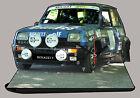 AUTO RENAULT5 ALPINA, R5 ALPINA -04, AUTO IN OROLOGIO MINIATURA