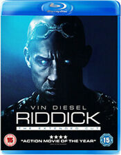 Riddick The Extended Cut 5030305516871 With VIN Diesel Blu-ray Region B