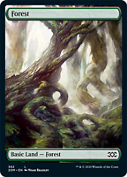 PREORDER Forest X4, FULL ART (BFZ), Double Masters, MTG,NM/M