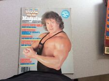 WWF Magazine August 1987 Ken Patera Wrestling + Catalog Demolition LJN Ad