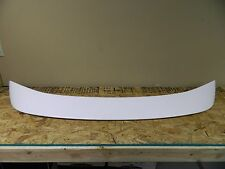 New OEM Ford Mercury Oxford White Rear Trunk Deck Lid Spoiler Wing