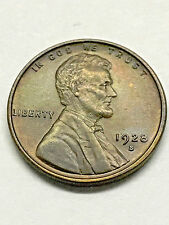 1928-S Lincoln Wheat Cent BU+ #3903