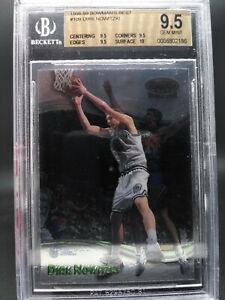 1998-99 Bowman's Best Dirk Nowitzki #109 BGS 9.5 Rookie TRUE GEM w/10 surface