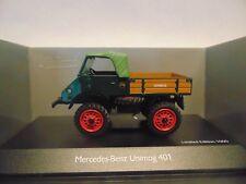 Mercedes-Benz Unimog 401 * Verde * 1:43 Schuco 450312800