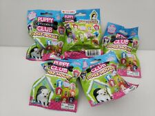 Lot of 5 New Puppy Club Friends Dogz House bags  Adopt Them All