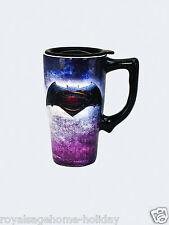 12722 Batman Superman Wonder Woman Ceramic Travel Mug Cup Coffee Dawn Of Justice