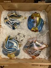 kurt adler polonaise christmas ornaments Tropical Fish Crate