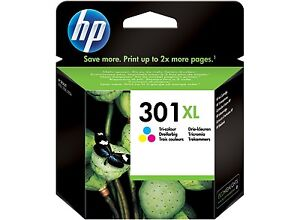 Genuine HP 301XL Ink Cartridge Colour for HP Envy 4505/5530 5532/5539
