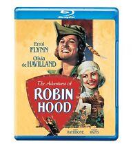 The ADVENTURES OF ROBIN HOOD (1938) - BLU-RAY (2008) ALL REGION ERROL FLYNN
