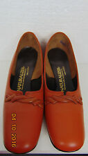 Vtg 50's 60's Ladies Naturalizer Brown Dress Pumps Size 8.5