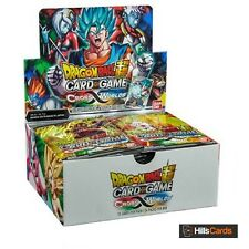 Dragon-Ball Super Card Game: Cross Worlds Sealed Booster Box of 24 Packs -B03 Z