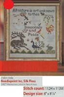 INNOCENCE AND PEACE  CROSS STITCH PATTERN ONLY    YD   SEE