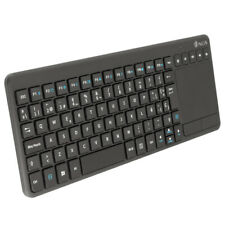Teclado Inalámbrico con Raton Touchpad para Smart TV NGS Warrior 2.4 Bluetooth