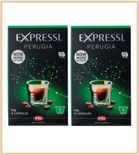 32 Capsules (2 boxes) Aldi Expressi Coffee Pods Perugia - Intensity 5