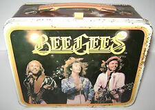 VINTAGE BEE GEES METAL LUNCHBOX KING SEELEY BARRY MAURICE ROBIN GIBB 1978