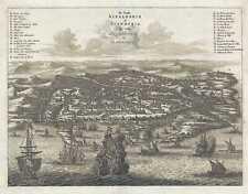 1686 Dapper View of Alexandria, Egypt