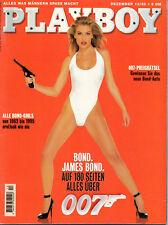 Playboy 12/1995   Alle Bond-Girls von 1962-1995*  Dezember/1995