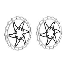2Pcs Stainless Steel Bicycle Disc Brake Rotor Ultra-light Bike Rotors 160mm