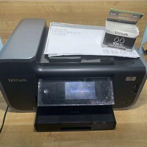 Lexmark Pinnacle Pro901 Wifi All-In-One Inkjet Printer, Open Box.
