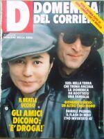La Domenica del Corriere 27 Dicembre 1980 Omicidio John Lennon Terremoto Rivera