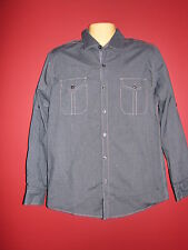 Michael Brandon Men's Blue Button-up Casual L/S Shirt - Size Small - NWT