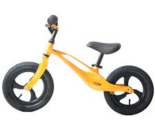 "Ammaco Flow 12"" Wheel Kid Balance Training First Bike Lightweight Mag Alloy Gold"