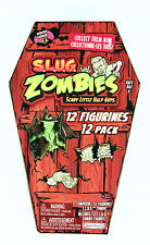S.L.U.G. ZOMBIES series 2 set 12 slug NEW in coffin like muscle men walking dead