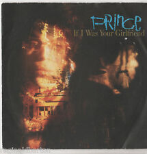 """Prince - If I Was Your Girlfriend 7"""" Single 1987"""