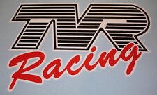TVR Racing Logo Decal Sticker