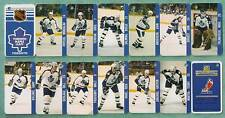 1983 Toronto Maple Leafs Key-Chain Team Set 12 Players