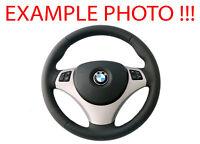 BMW 1 3 E81 E82 E87 E88 E90 E91 E92 E93 NEW Leather M-Sport Look Steering Wheel