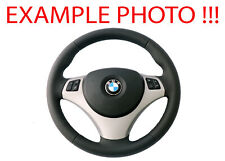 BMW 1 3 E81 E82 E87 E88 E90 E91 E92 E93 NEW Leather M-Sport Look Steering Wheel