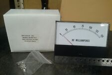 Panel Meter, 0 - 150 Ma DC Amp Meter. 130 x 100mm