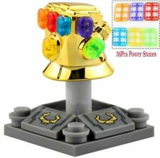 Infinity Gauntlet [Gold Chromed With 36Pcs Power Stones] Lego Moc Minifigures..