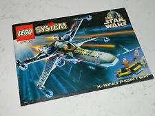 Lego Star Wars X-wing Fighter 7140 Instruction Manual Only