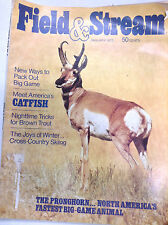 Field & Stream Magazine Pronghorn Game Animal January 1973 062017nonr
