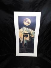 1987 Byron Birdsall APU Art Print New University for A New World Alaska Pacific