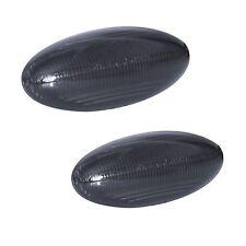 2 REPETITEUR LED PEUGEOT 206 206CC 206SW-PARTIR 08/1998 NOIR FUME