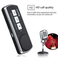 Bluetooth Car Speakerphone Hand Free Kit USB Multipoint Speaker For Cell Phone