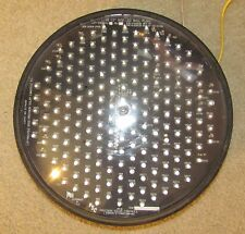 "12"" Precision Solar Yellow Ball LED Traffic Signal Light"