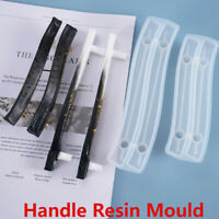 Silicone Cabinet Cupboard Handle Resin Casting Mold Fruit Tray Epoxy Crafts HOT