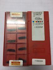 N123 E2-0200-0002-GM3115 *w=2.0mm SANDVIK Carbide Inserts (Pack of 10)