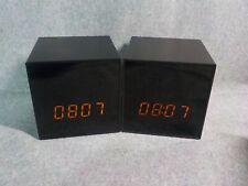2 PANORAXY B100V.3 Smart Clock WiFi Cube Camera