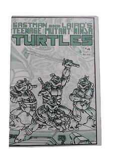 Teenage Mutant Ninja Turtles #4 1st Print Mirage  TMNT high grade