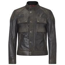LTD ED Belstaff James Hunt Tokyo Blouson Jacket Antique Black Cafe Racer Moto 54