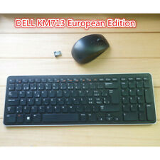 DELL KM713 wireless ultra-thin keyboard European version, without battery