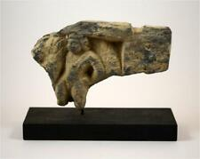 Gandharan gray schist panel fragment