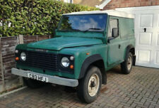 Lovely green 1986 land rover 90 defender running ideal project needs work etc
