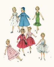 "Revlon Dollikin Cissy Toni by Ideal 21"" tall 7"" w Doll Clothing PATTERN 2745"