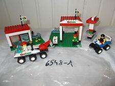 Lego system 6548-1: Octan Gas Station service OCTAN 1997 camion dépanage